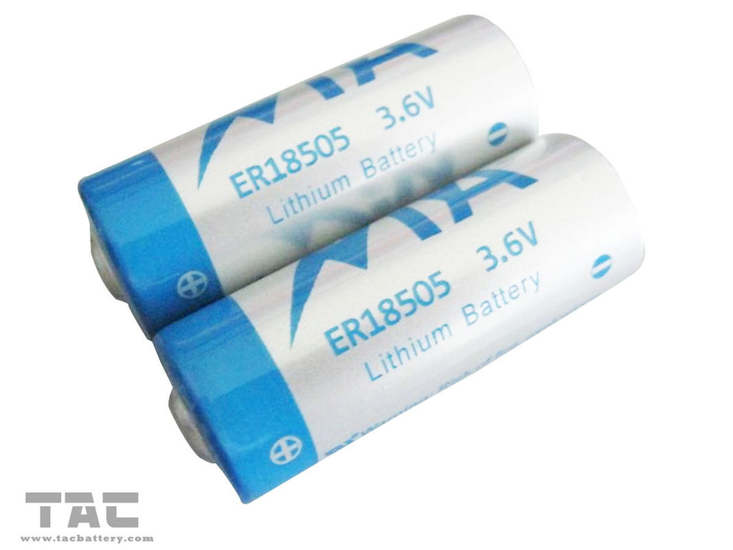 3.6V ER18505 3600mAh Primary lithium battery for Utility meter, GPS tracking