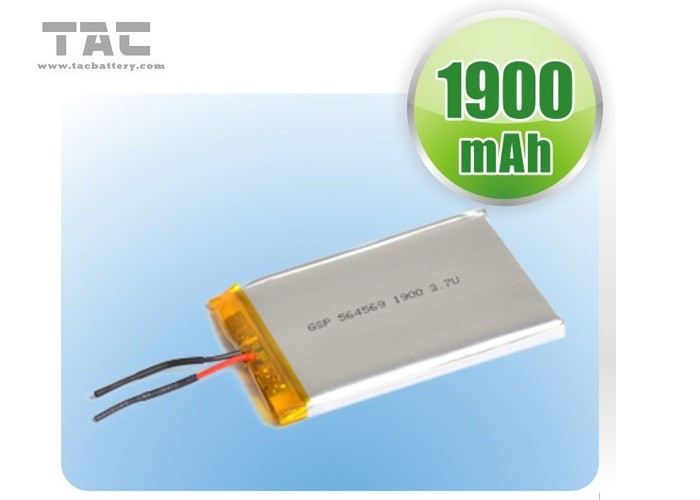 GSP055070 3.7V 1800mAh Polymer Lithium Ion Batteries With PCB