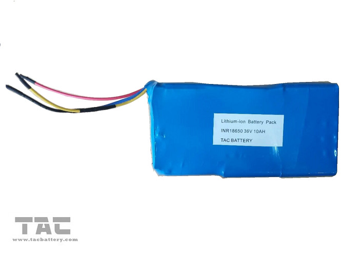 INR18650 Li-ion Battery Pack 36V 10AH with high power dishcarge current For EV